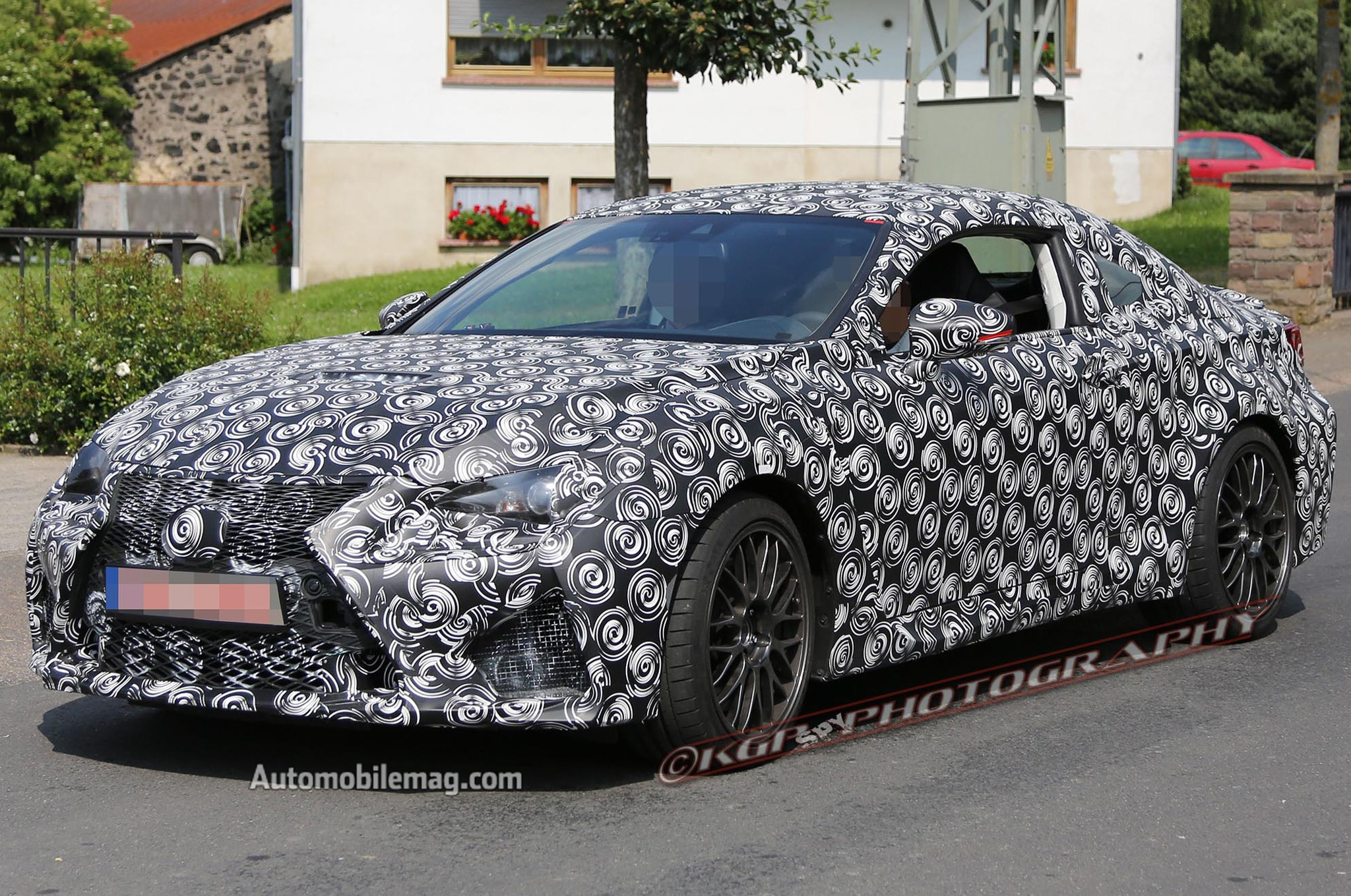 2015 Lexus IS F Coupe Spied