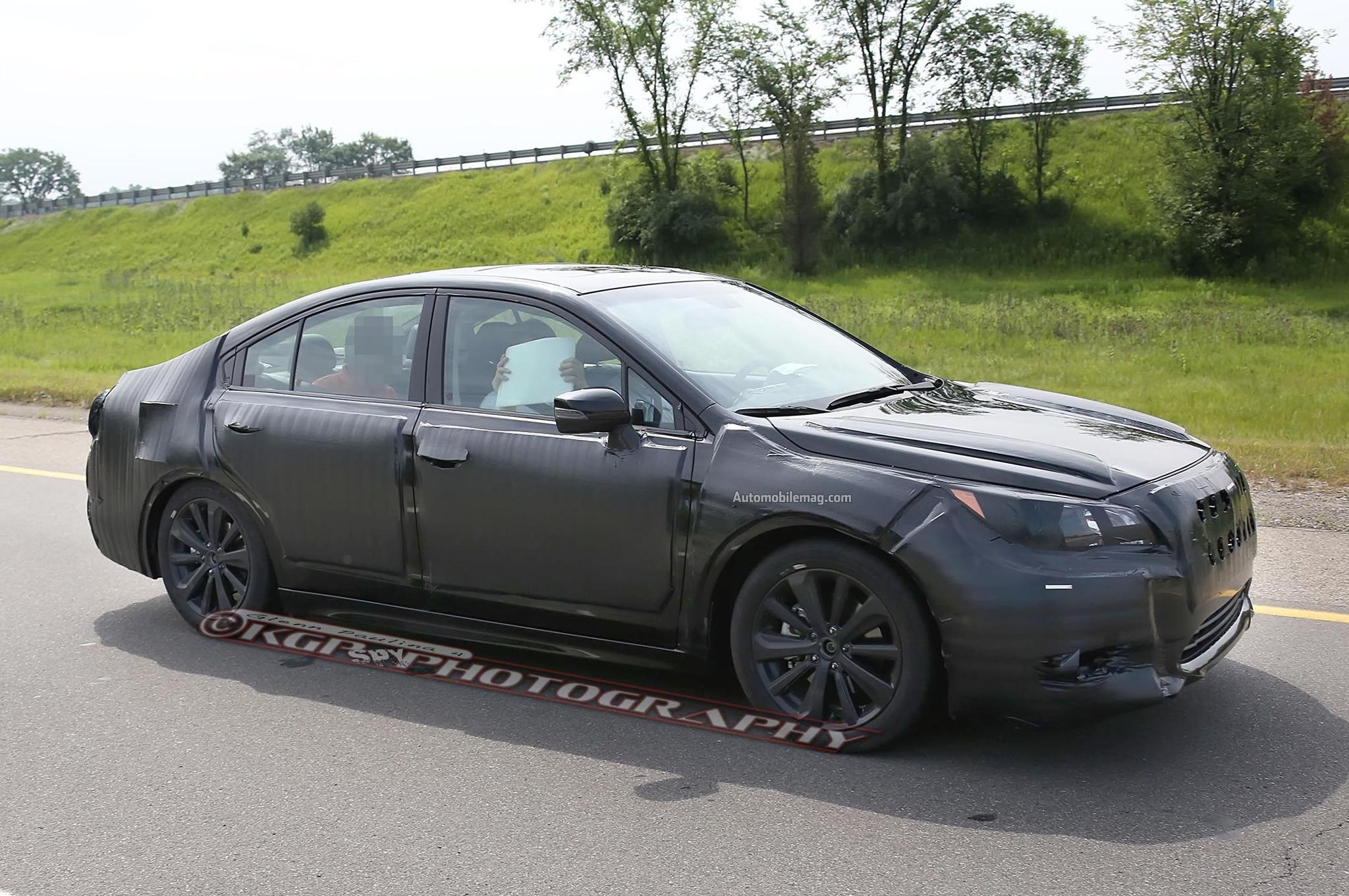 2015 Subaru Legacy Spied Front Three Quarter 061