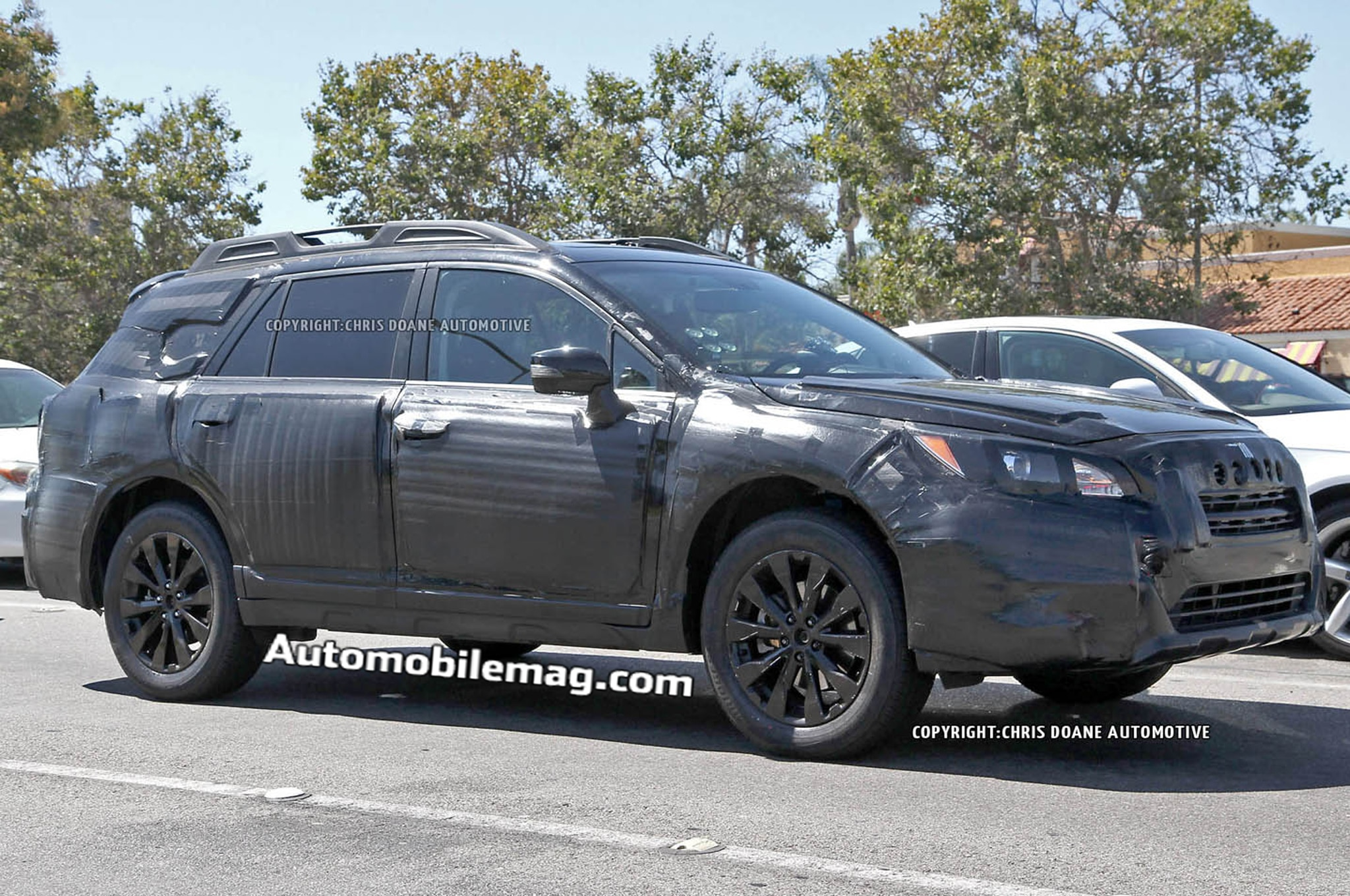 2015 Subaru Outback Front Three Quarter Spied 41