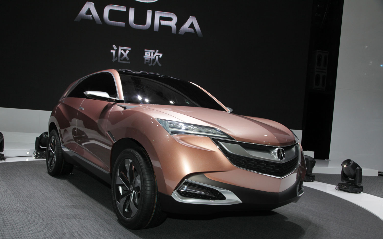 Acura Concept SUV X Right Front Angle1