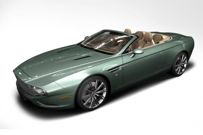 Aston Martin DB9 Spyder Centennial Front Three Quarter1 660x438