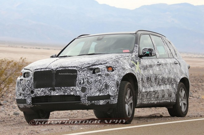 BMW X5 Plug In Spied Front Three Quarter 11 660x438