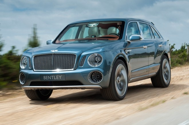 Bentley EXP 9 F SUV Concept Front Three Quarters View1 660x438
