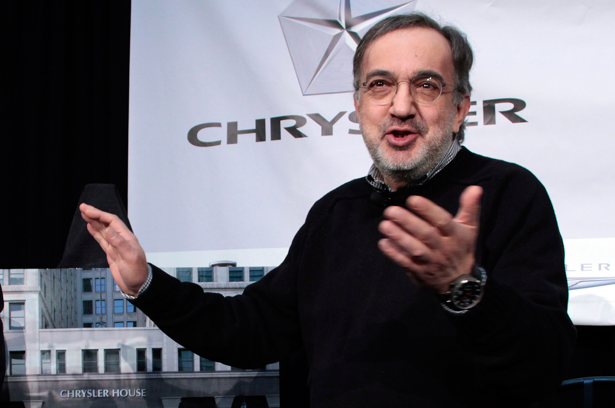 Chrysler CEO Sergio Marchionne 31