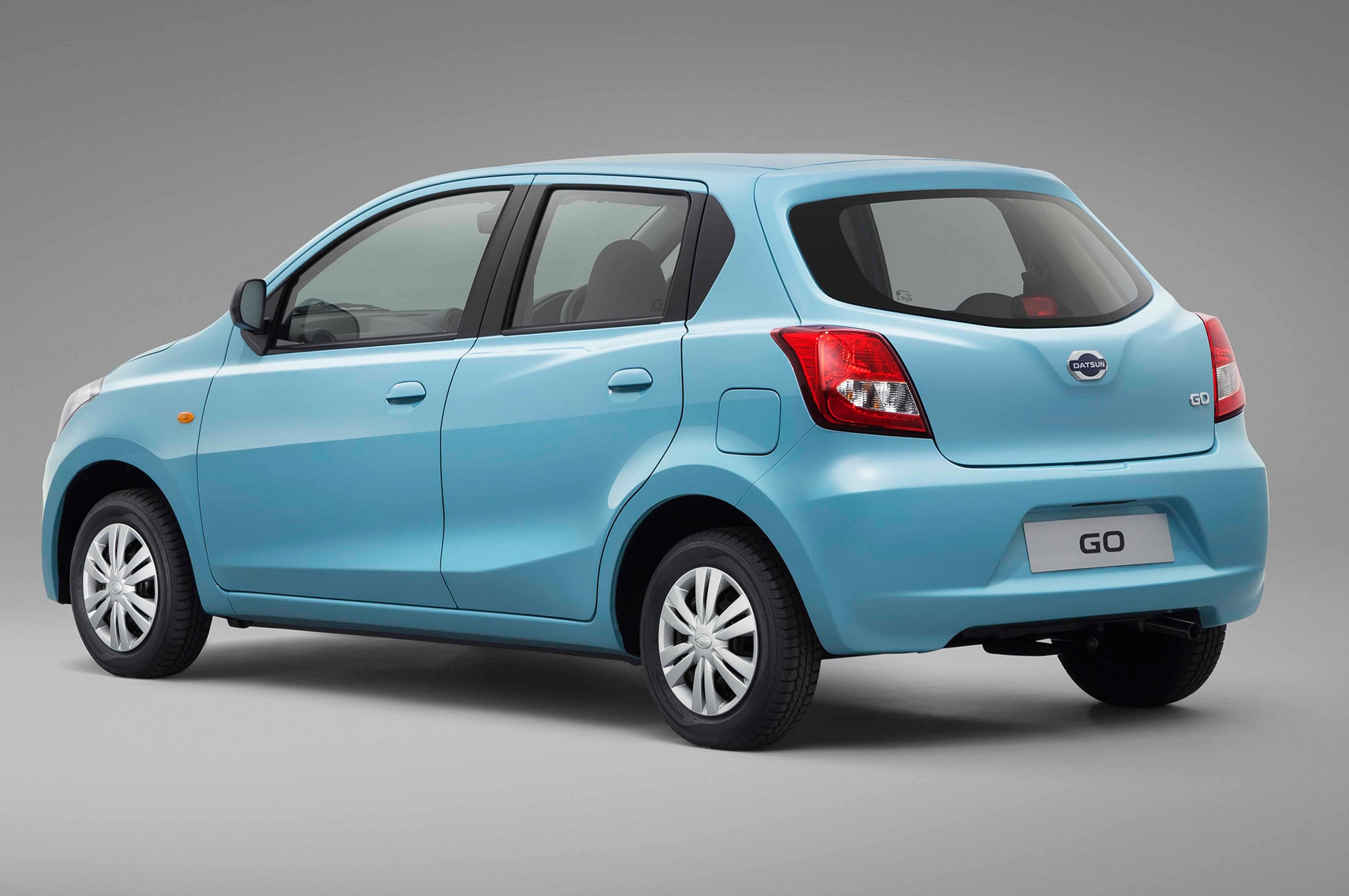 Datsun Go Rear Three Quarter1