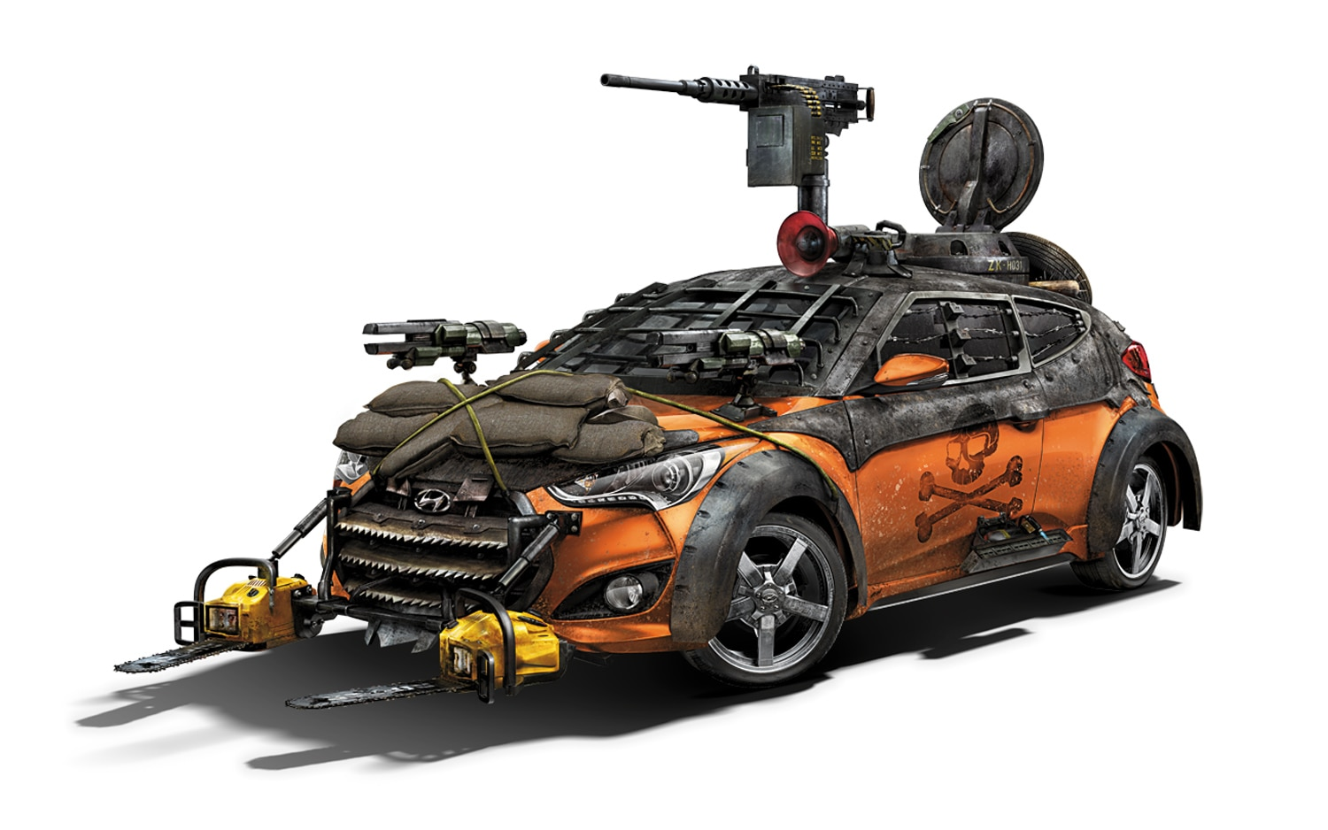 Hyundai Veloster For The Walking Dead1