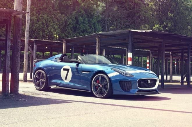 Jaguar Project 7 Concept Front Three Quarter Static1 660x438