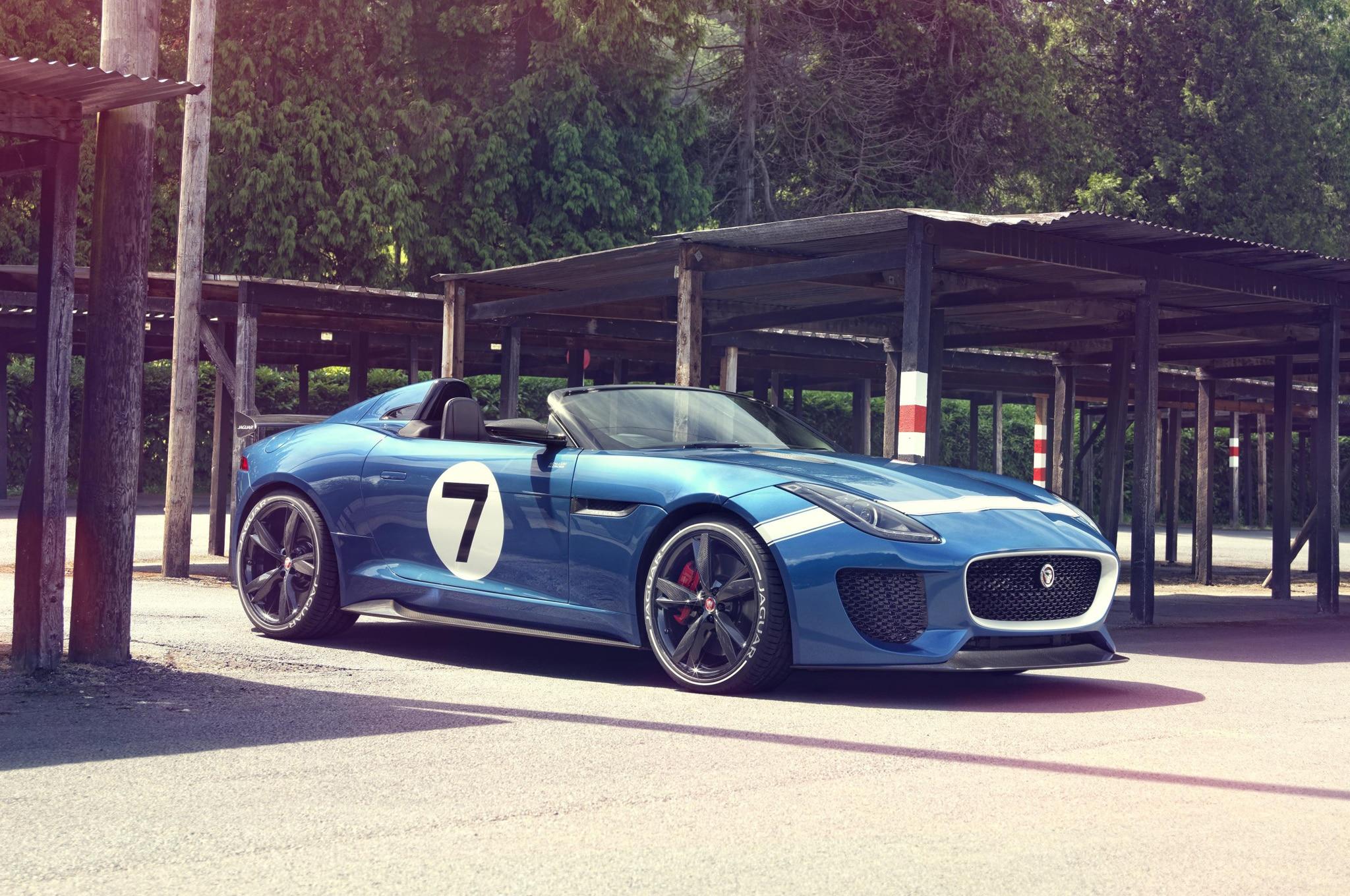 Jaguar Project 7 Concept Front Three Quarter Static1