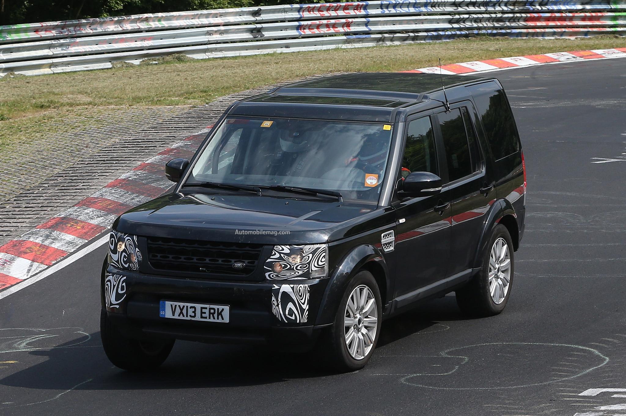 Land Rover LR4 Spied Front Three Quarter 11
