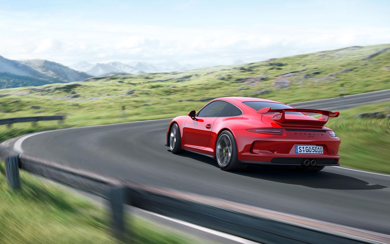 Porsche 911 GT3 Rear Left View1