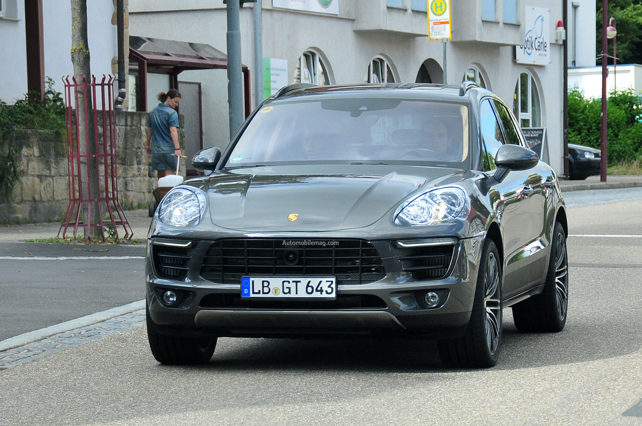 Porsche Macan Spied Front Three Quarter 11