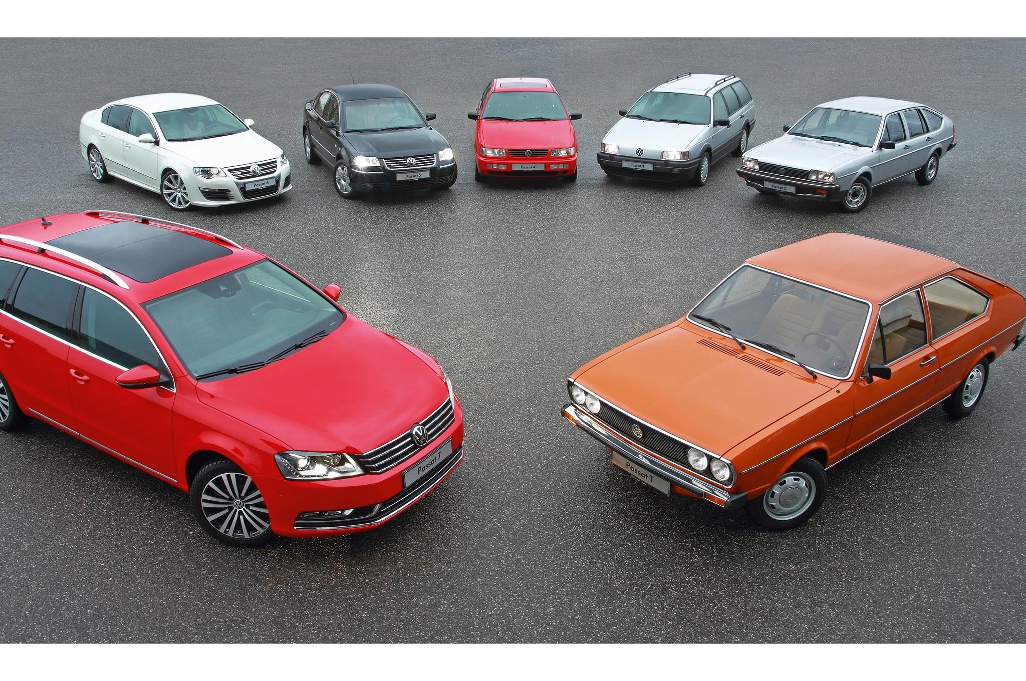 Volkswagen Passat Generations1