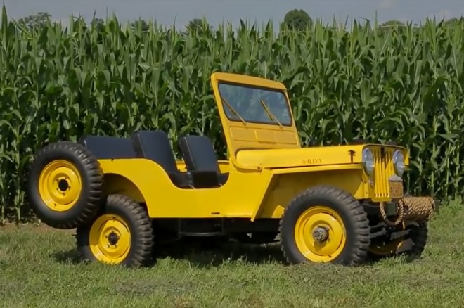 1951 Willys CJ 3A Vs 2013 Jeep Wrangler Unlimited On Dirt Every Day Image 11 660x438