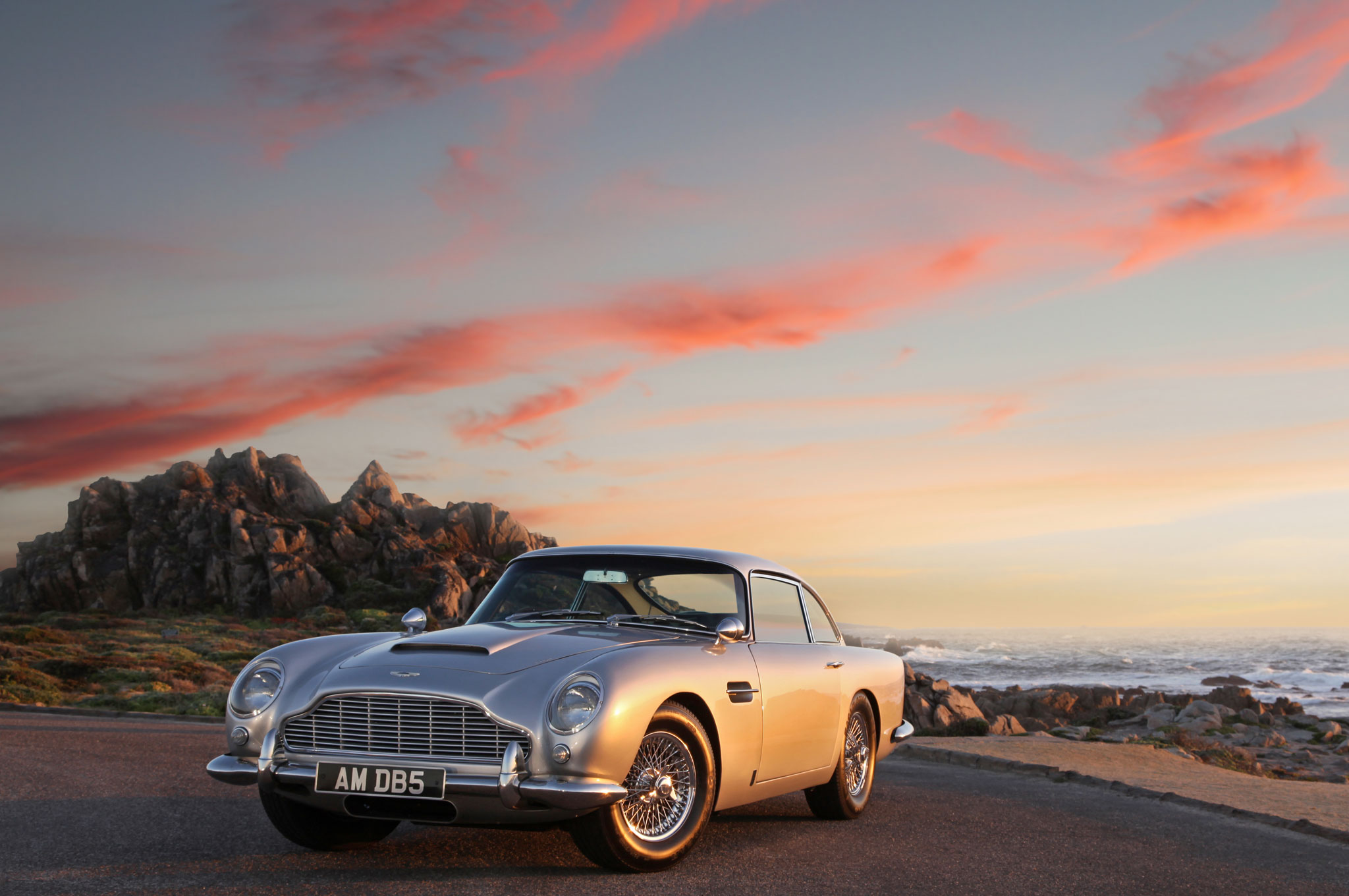 Bay Area To Monterey Via Aston Martin DB5