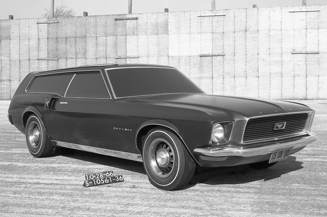 1969 Ford Mustang Station Wagon Design Concept1 660x438