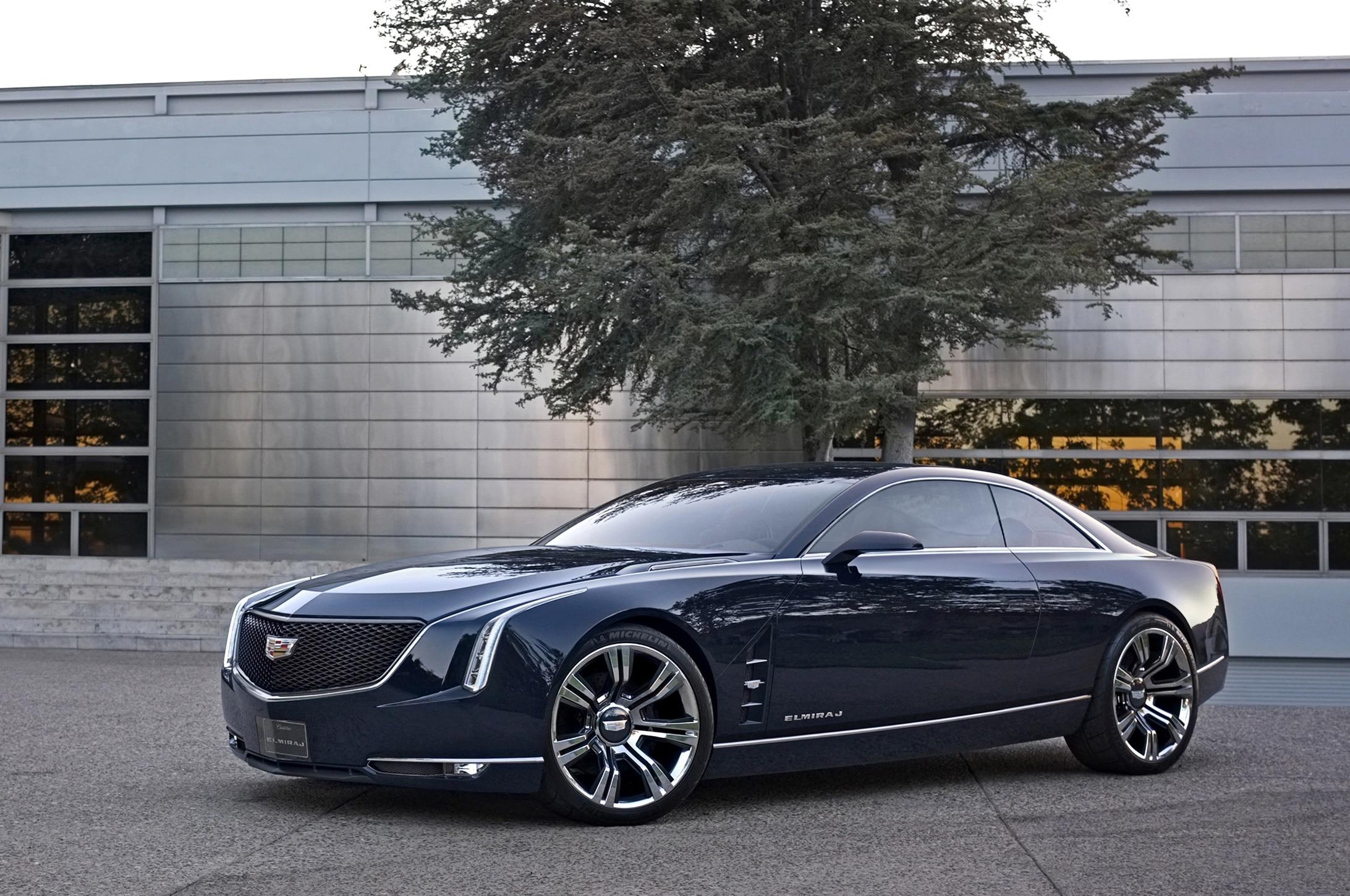 2013 Cadillac Elmiraj Concept Front Three Quarter11