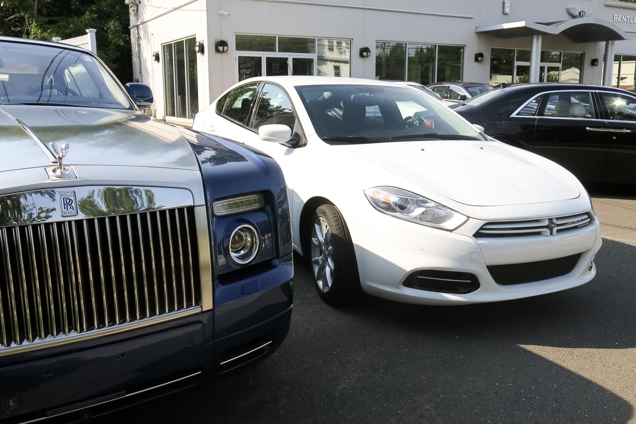 2013 Dodge Dart With Rolls Royce1