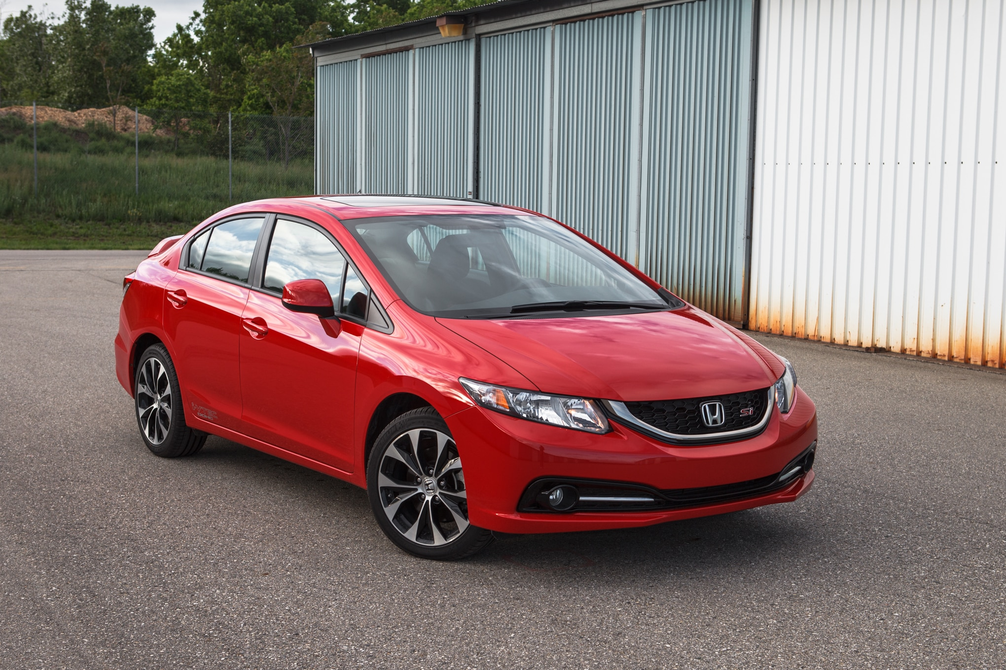 2013 Honda Civic Si Front Right View 21