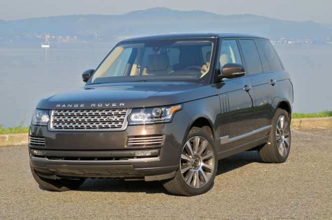 2013 Land Rover Range Rover Supercharged Front Left View1 660x438