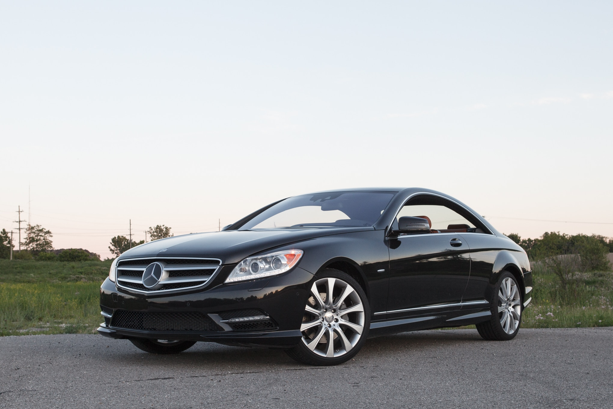 2013 Mercedes Benz CL550 Front Left Side View 11
