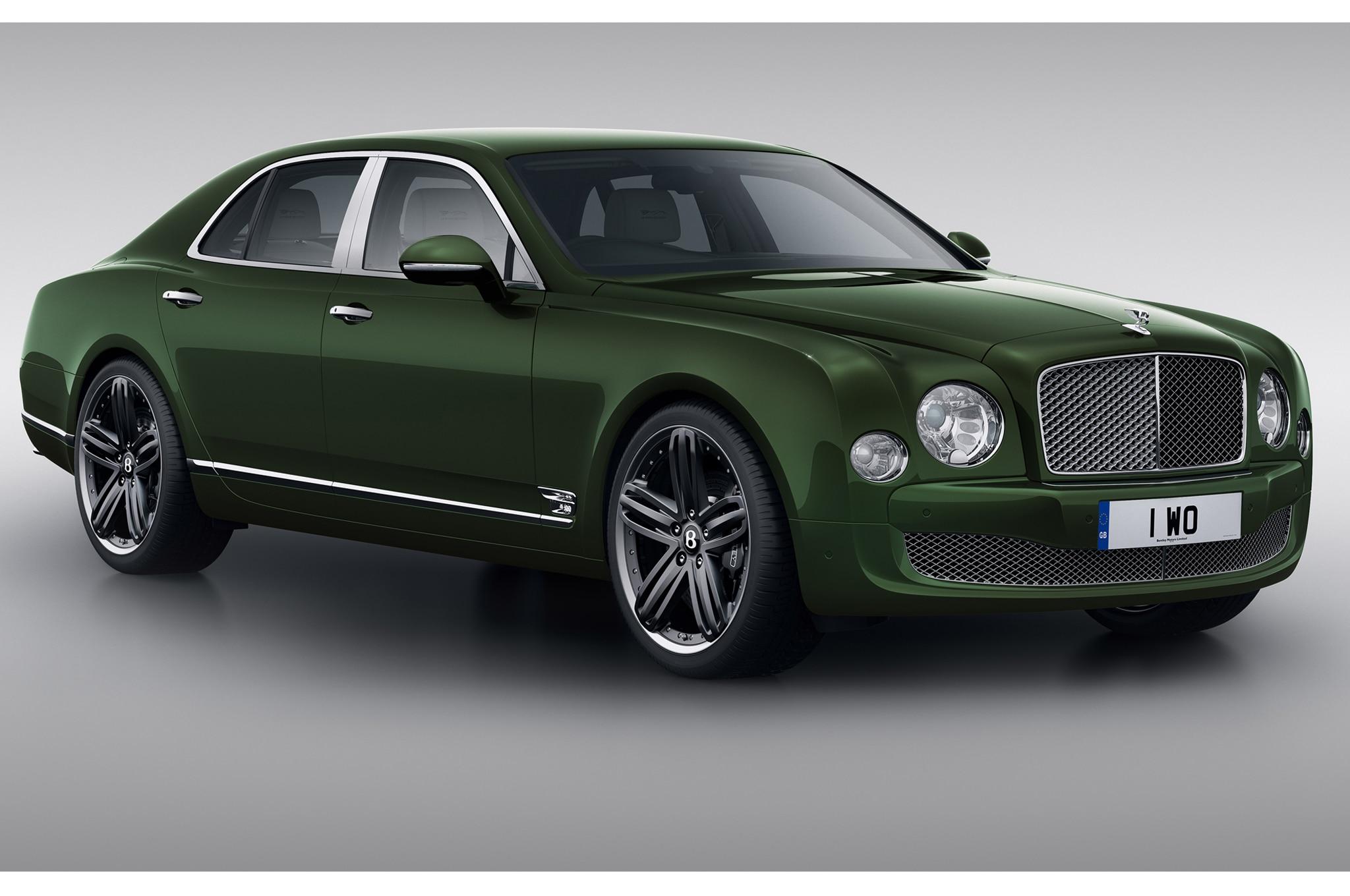 2013 Bentley Le Mans Mulsanne Front1