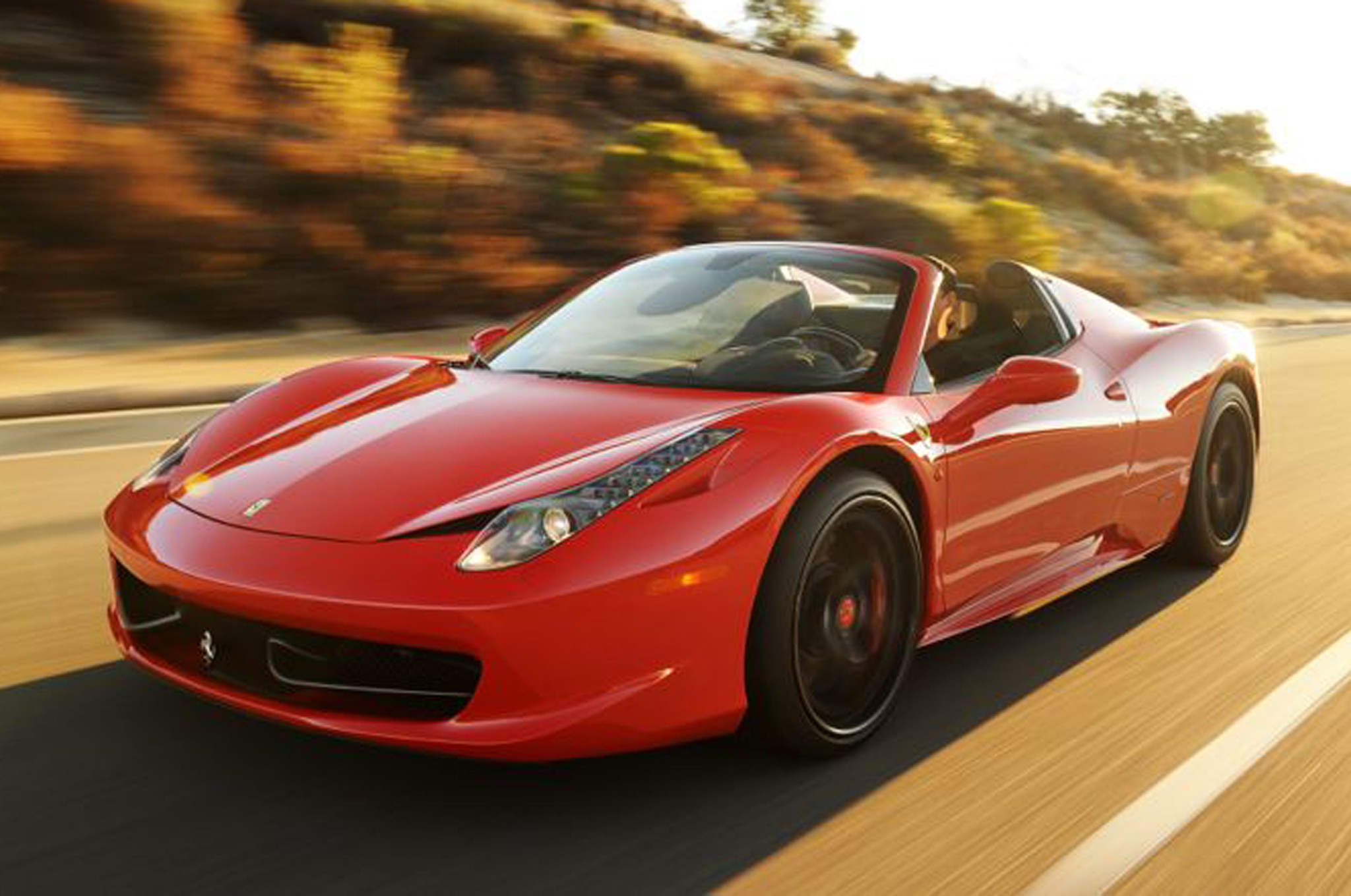2013 Ferrari 458 Twin Turbo Front Three Quarters 11