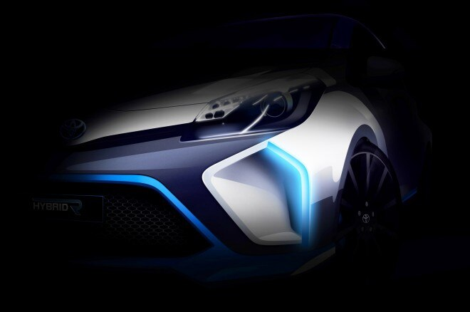 2013 Toyota Hybrid R Concept Teaser1 660x438