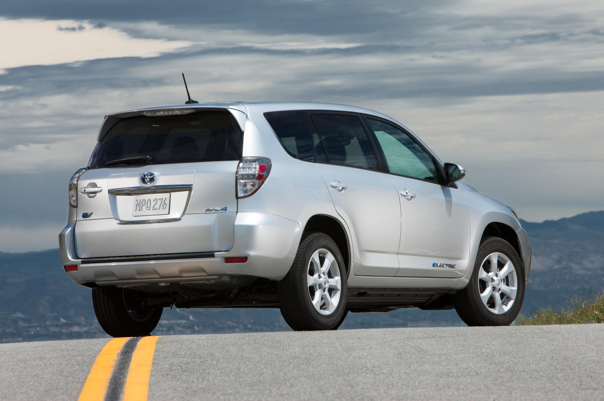Toyota RAV4 EV Receives Half-Price Lease Deal