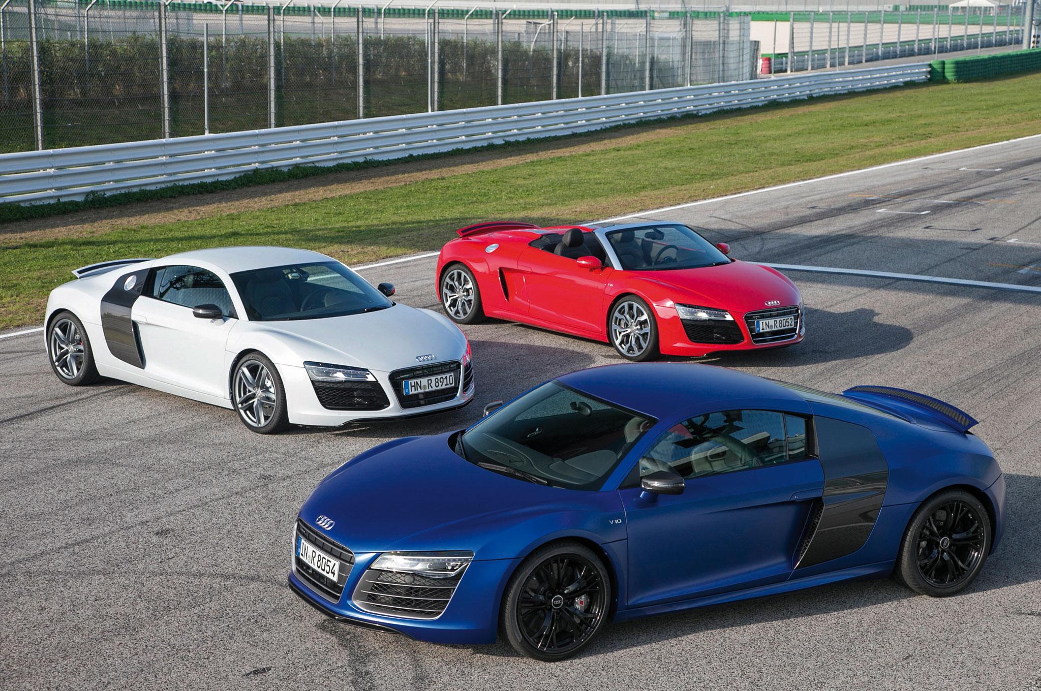 Audi R Spyder R V And R V Plus Automobile Magazine - Audi r8 suv price