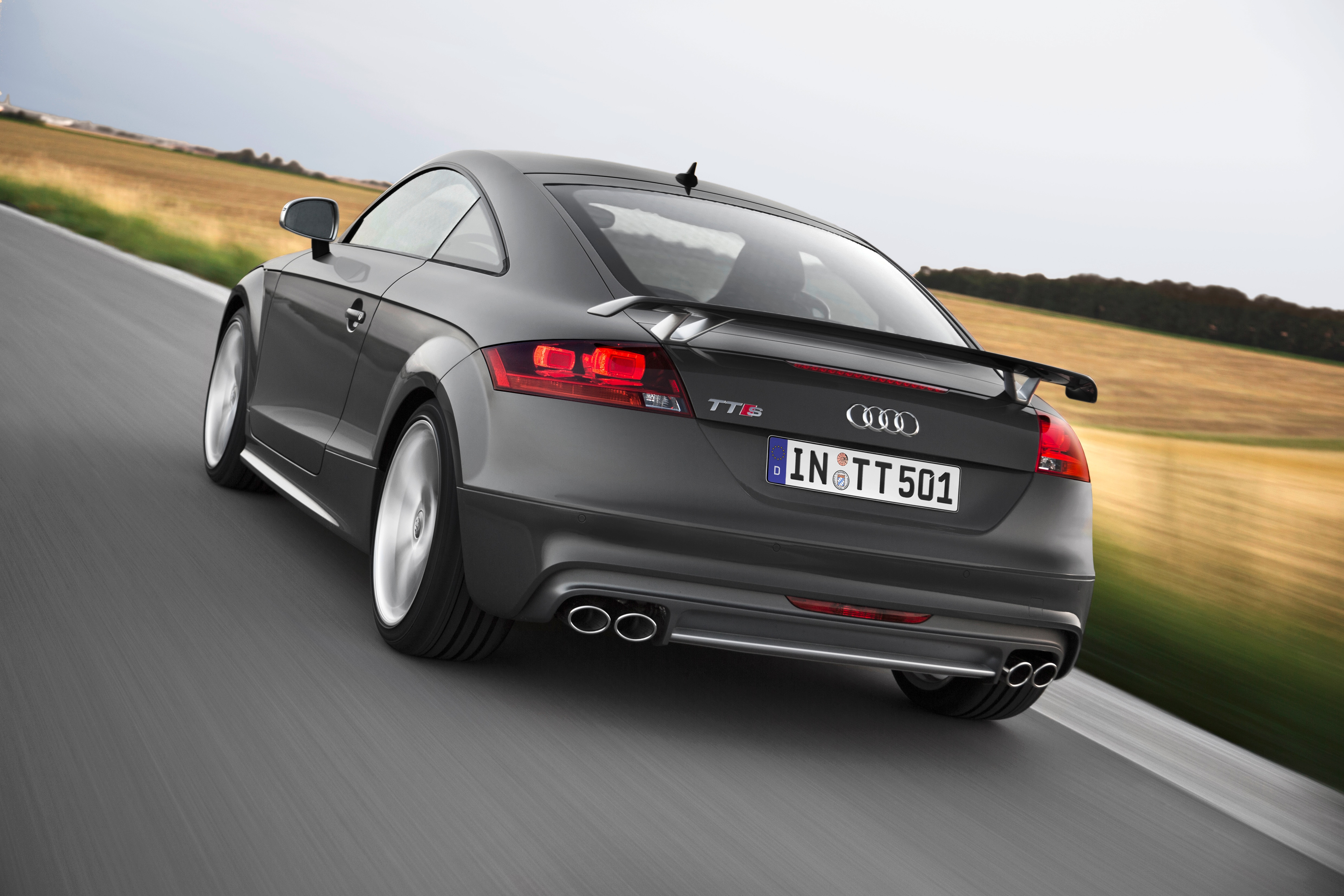 audi tts competition honors 500,000 s