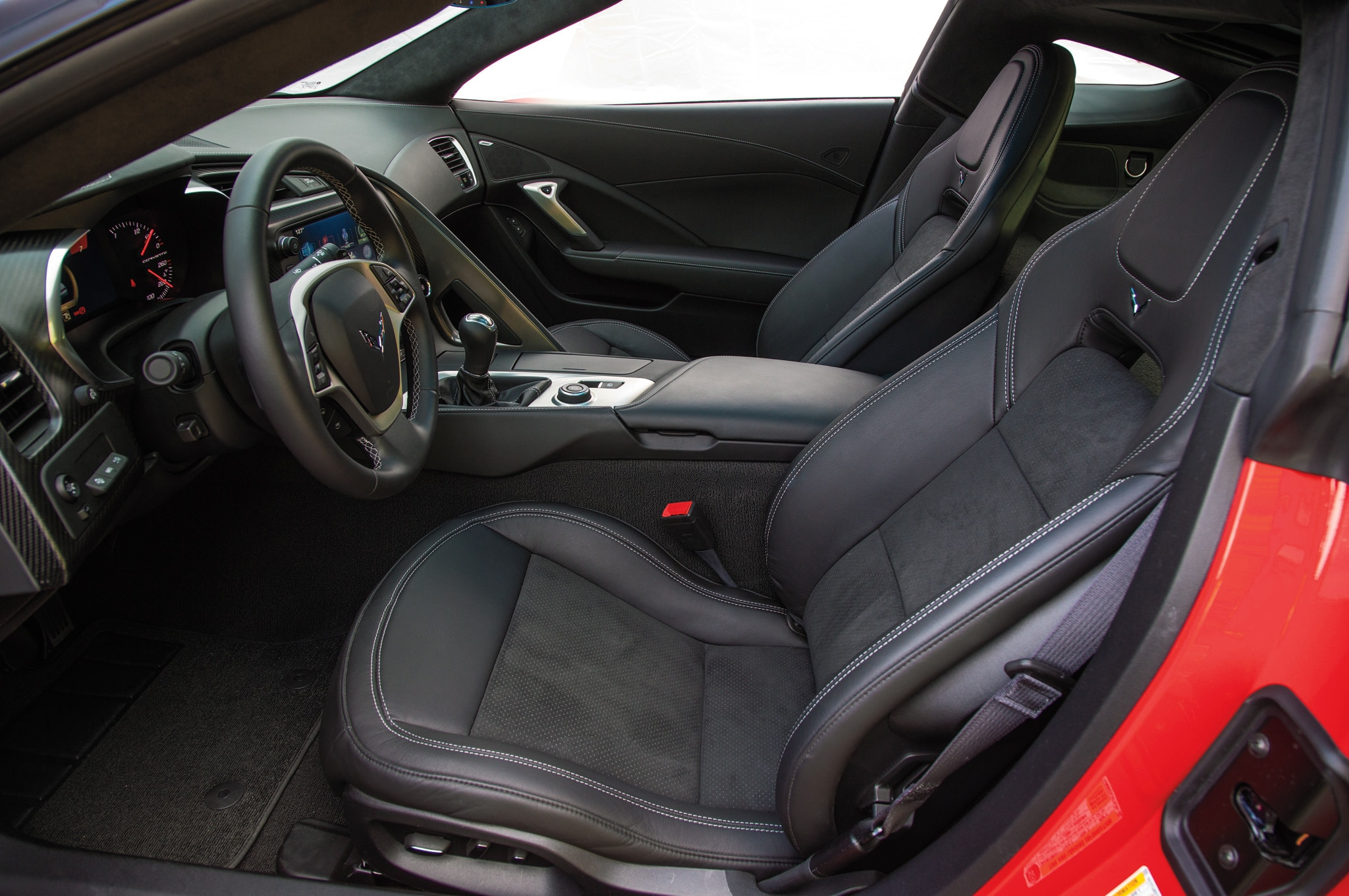 2014 chevrolet corvette stingray z51 front interior seats - Corvette 2013 Stingray Interior