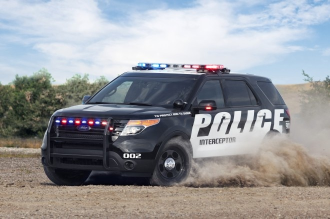 2014 Ford Police Interceptor Utilitiy EcoBoost Front Three Quarter1 660x438