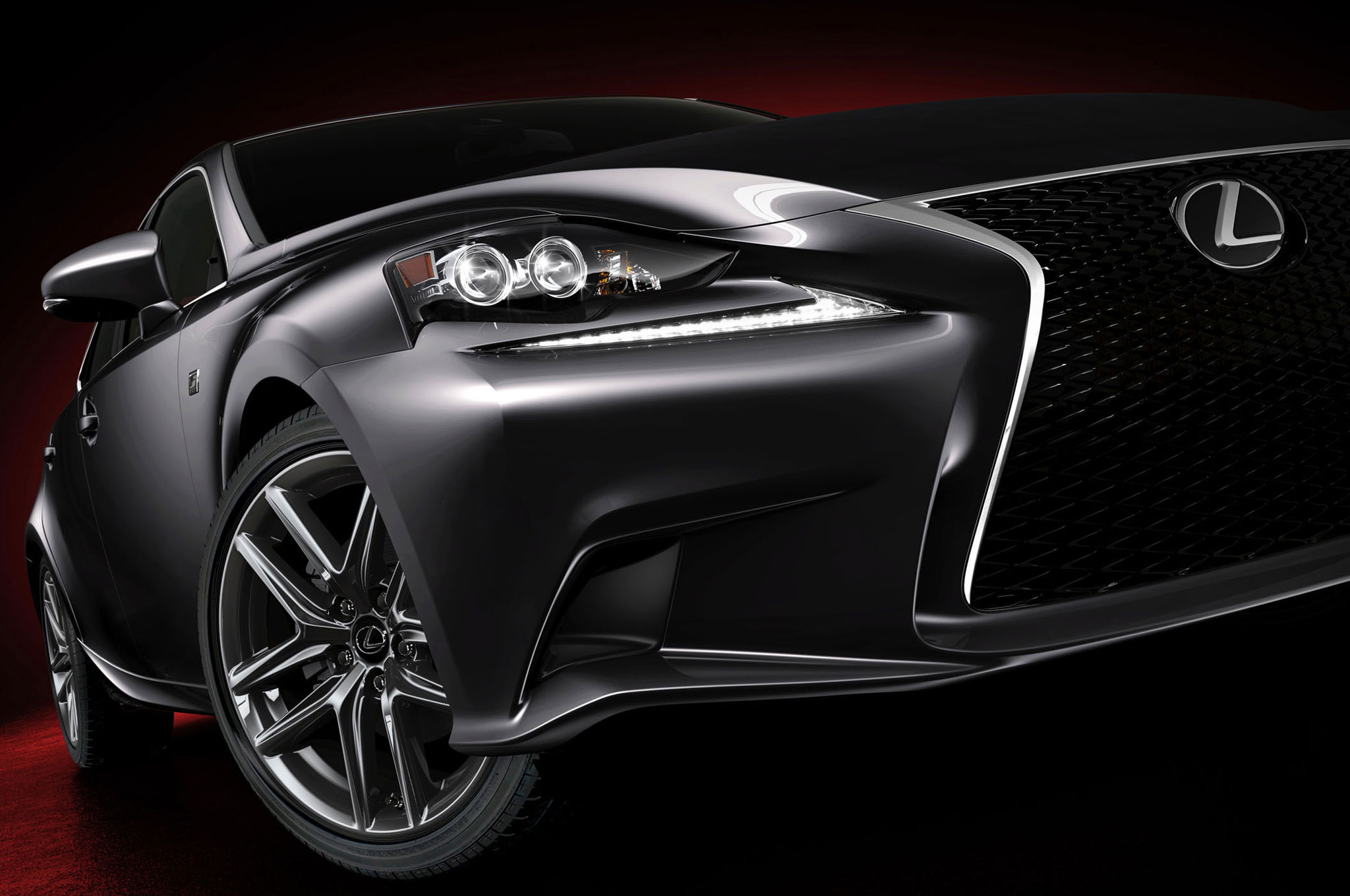2014 Lexus IS FSport Right Front Closeup1