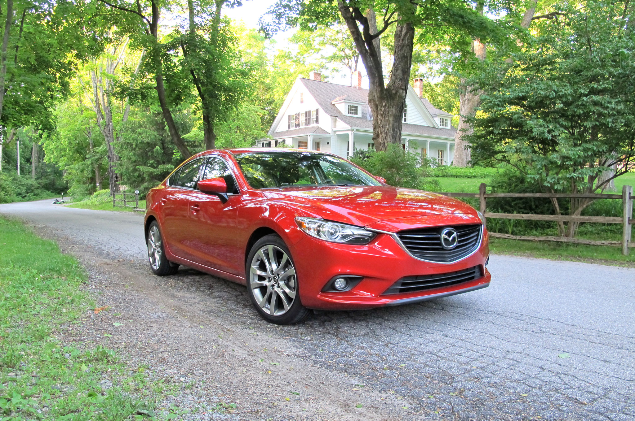 2014 Mazda 6 Front Right View1