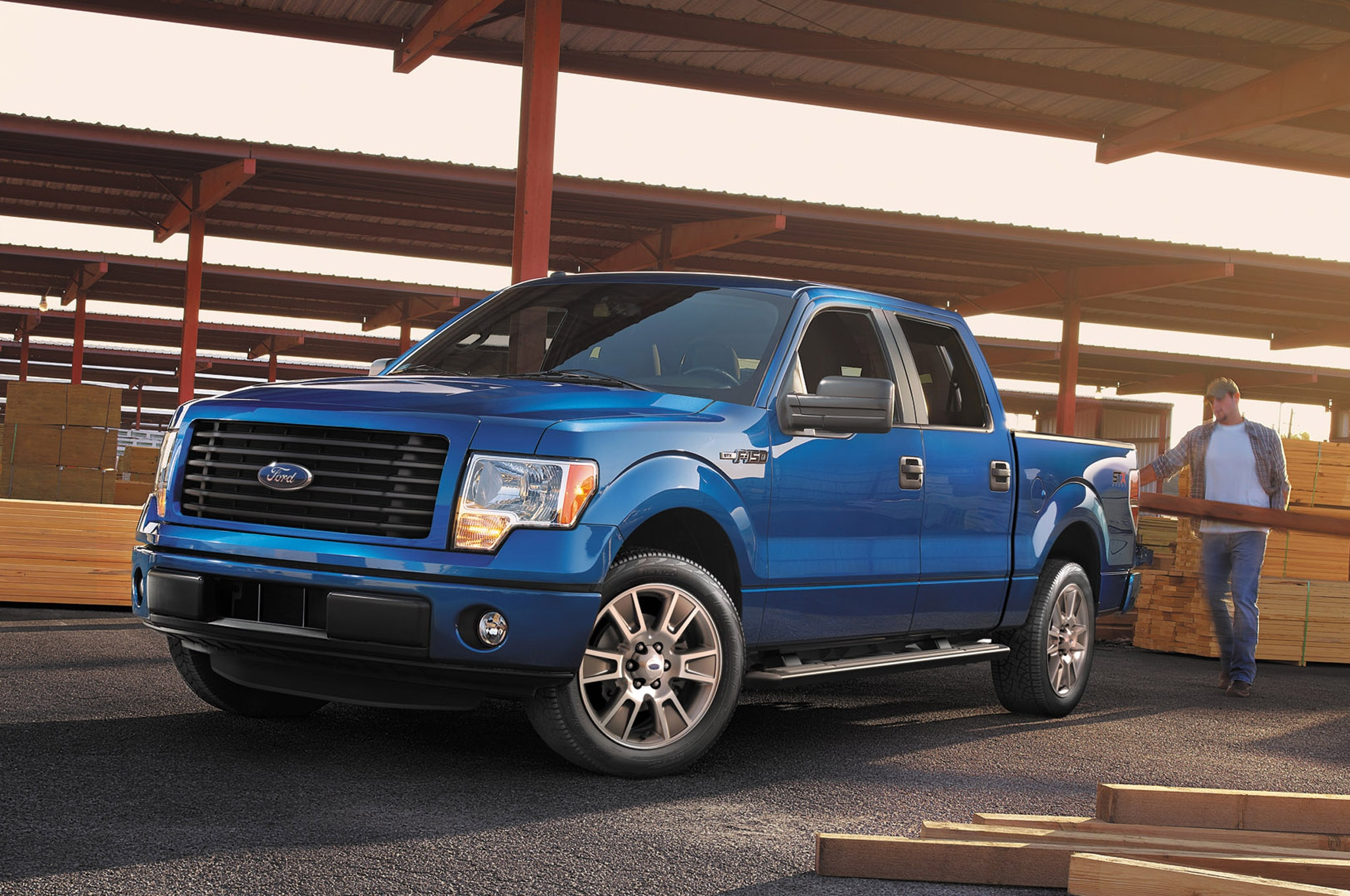 2014 Ford F150 Stx Supercrew1