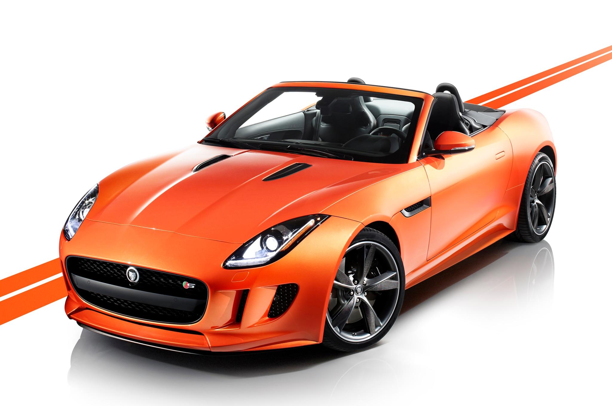 2014 Jaguar F Type Front Three Quarters1