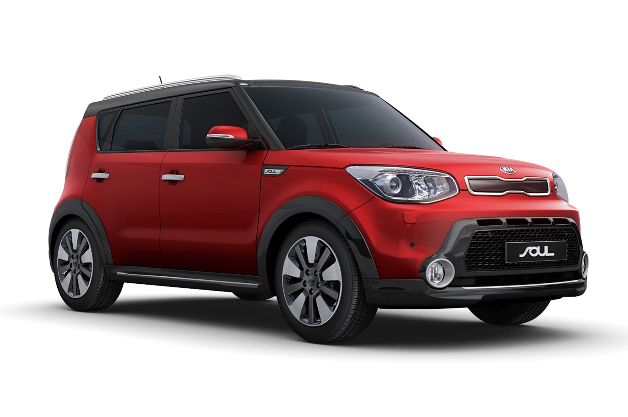2014 Kia Soul Euro Spec Suv Pack Front Three Quarters1