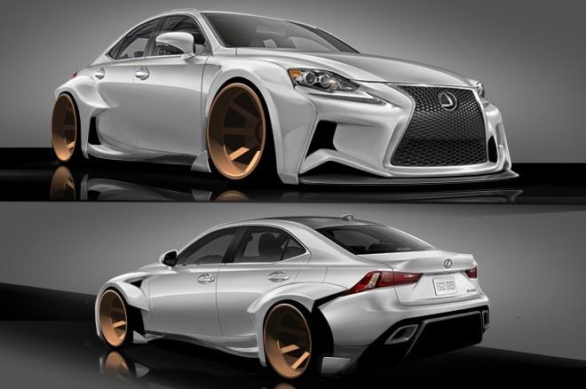 2014 Lexus Is Deviantart Evans1 660x438