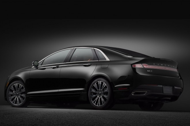 2014 Lincoln Mkz Black Label Center Stage Rear Three Quarters1 660x438