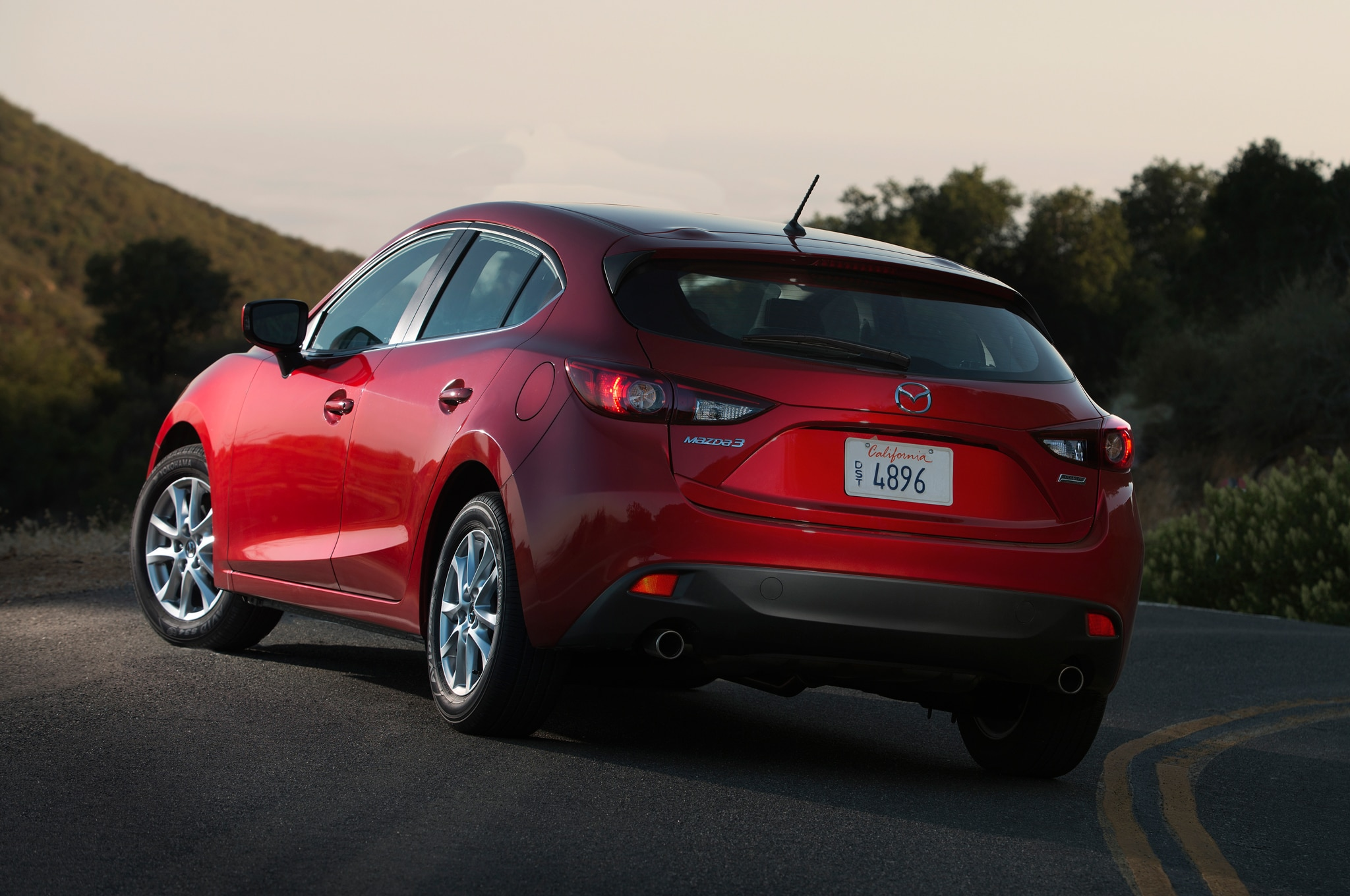 2014 Mazda 3 Rear Angle1