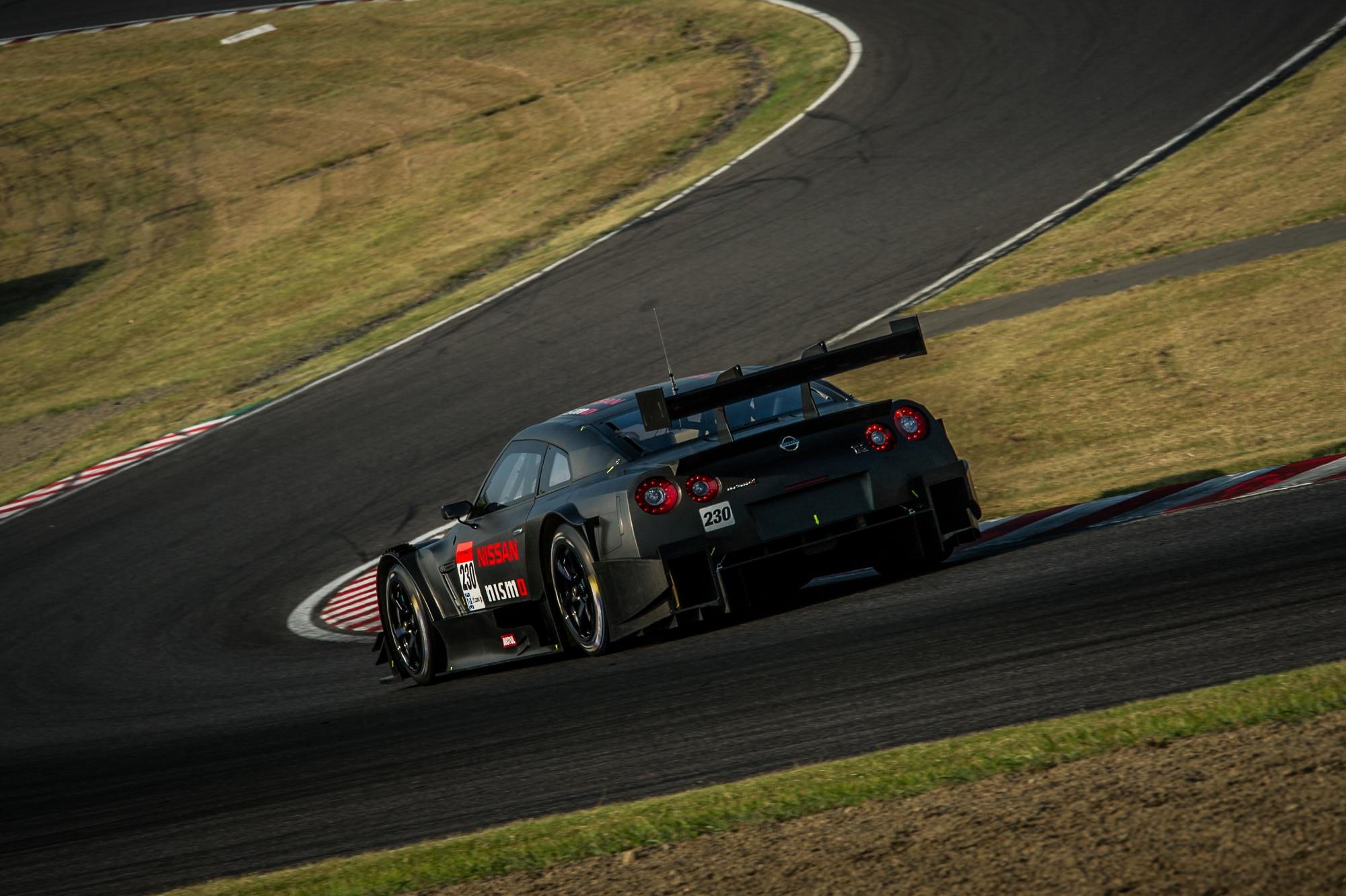 2014 Nissan Gtr Nismo Gt500 Rear Angle1