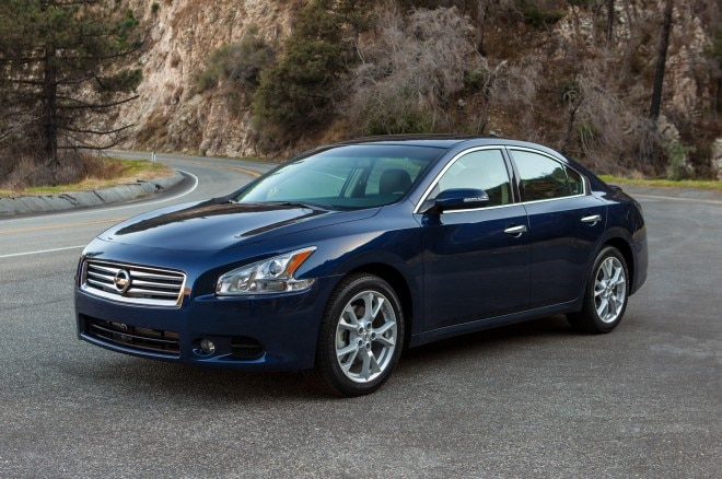 2014 Nissan Maxima Front Three Quarters1 660x438