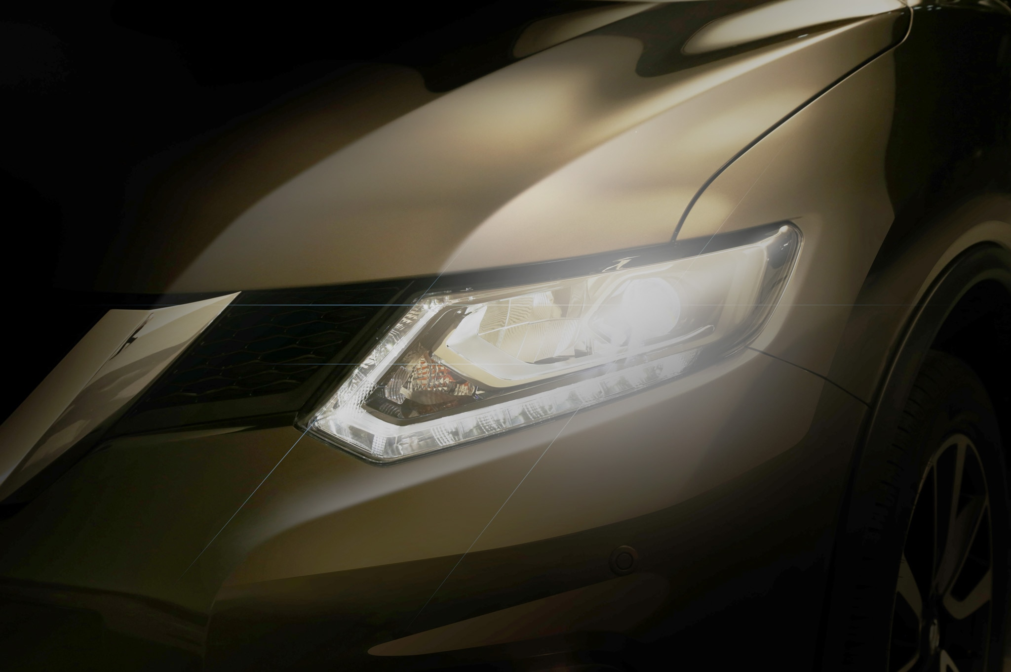 2014 Nissan Rogue Teaser Brightened1