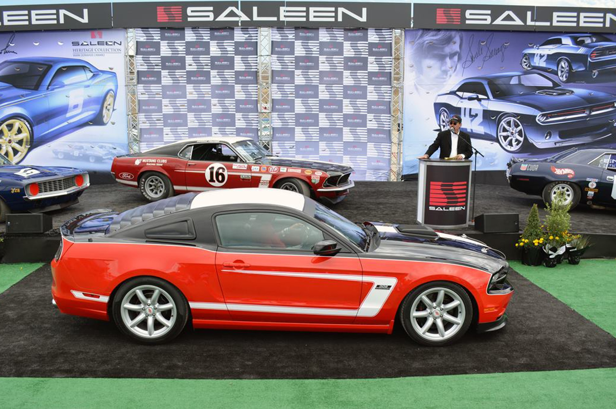 2014 Saleen George Follmer Mustang Profile1