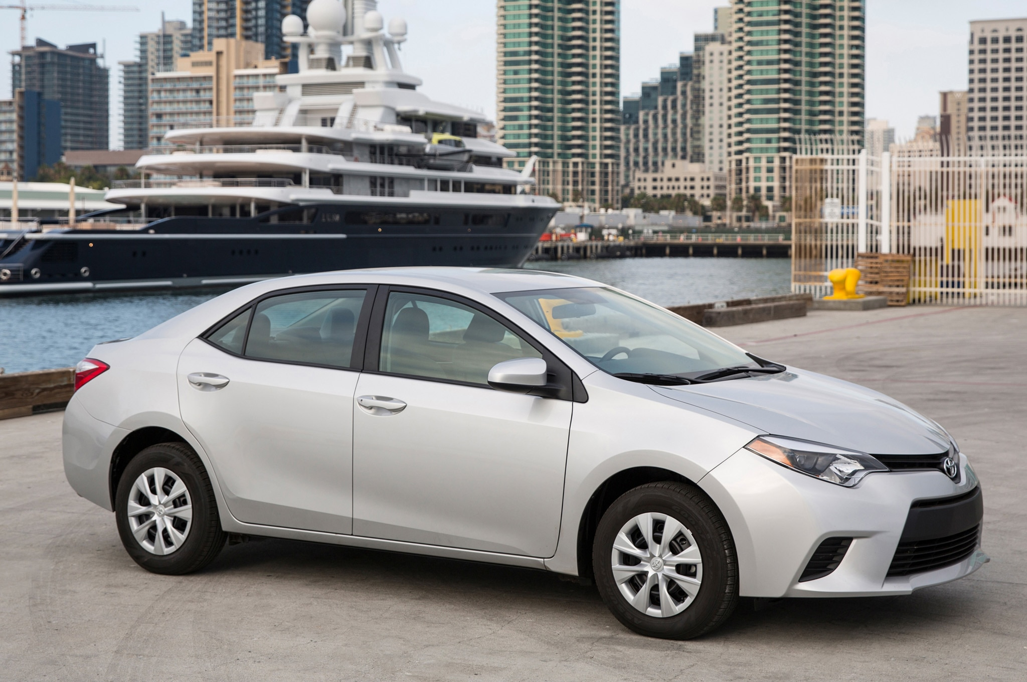 2014 toyota corolla pricing announced. Black Bedroom Furniture Sets. Home Design Ideas