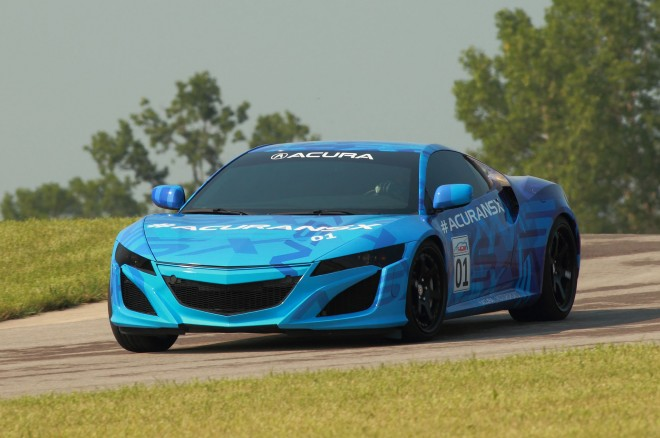 2015 Acura NSX Prototype On Mid Ohio11 660x438