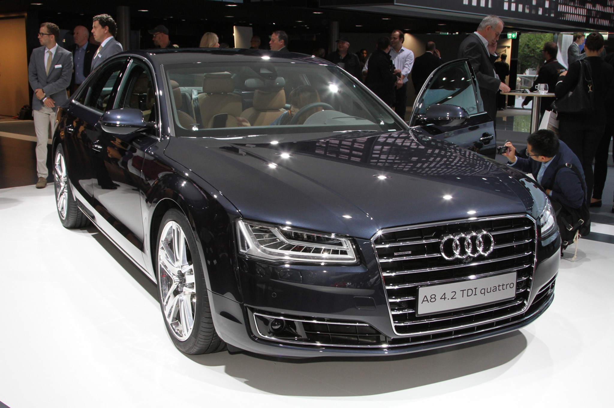 2015 audi a8 first look automobile magazine show more sciox Image collections