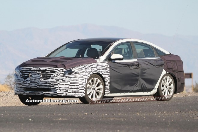 2015 Hyundai Sonata Front Three Quarter Spied 51 660x440