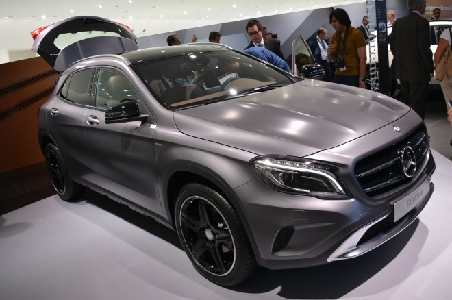 2015 Mercedes Benz GLA Class Front View2 660x438