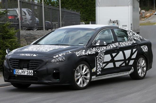 2015 Hyundai Sonata Spied Front Three Quarters 21 660x438